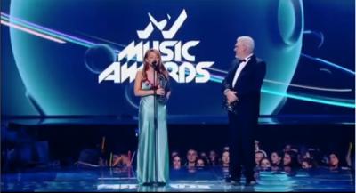 Тіна Кароль вразила розкішним образом на M1 Music Awards 2018