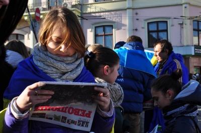 5 років Євромайдану: як студенти в Чернівцях блокували міськраду