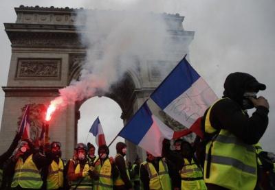 """Мерія Парижа порахувала збитки від протестів """"жовтих жилетів"""""""