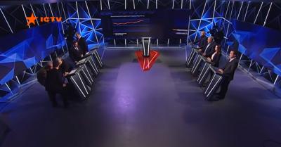Денісова знепритомніла у прямому ефірі під час виступу Порошенка - відео
