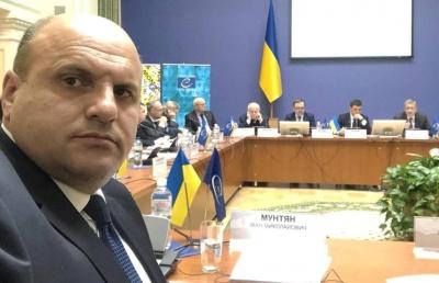 Мунтян заявив, що облрада не блокує децентралізацію на Буковині та поскаржився на «політиків з центру»