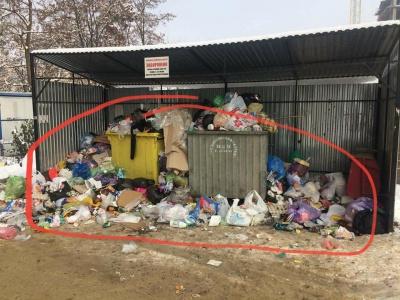 У Чернівцях інспекція Обшанського оштрафувала двох посадовців через неприбране сміття