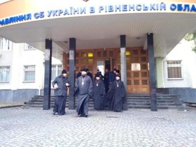 На Рівненщині СБУ допитала 12 священиків УПЦ МП