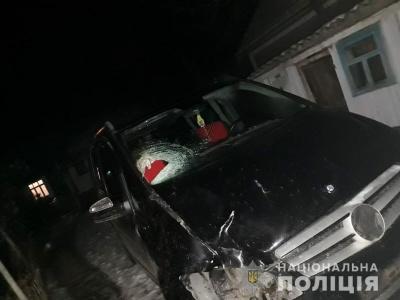 На Буковині п'яний водій збив на смерть пішохода і втік з місця ДТП