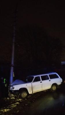 У Чернівцях п'яний водій врізався в електроопору: на Миру зникло вуличне освітлення  - фото