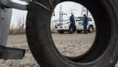 На Луганщині ОБСЄ зафіксувала артилерію бойовиків