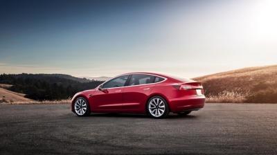 Відтепер українці можуть напряму замовити Tesla Model 3