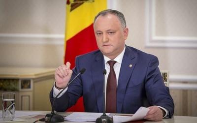 У Молдові Додона вже вп'яте відсторонили від посади