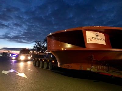 До Новодністровська привезли робоче колесо гідроагрегату ГАЕС