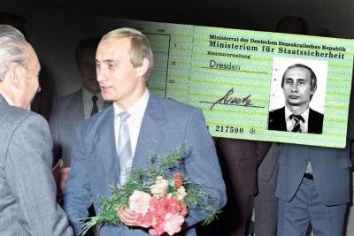 """У Німеччині виявили службове посвідчення """"Штазі"""", видане на ім'я Путіна"""