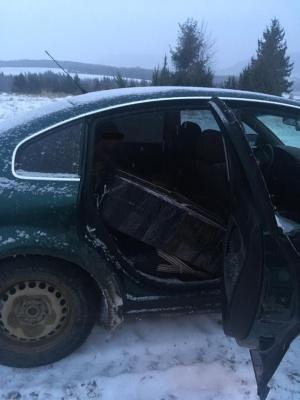 Стрілянина на кордоні: на Буковині затримали п'яного контрабандиста з цигарками