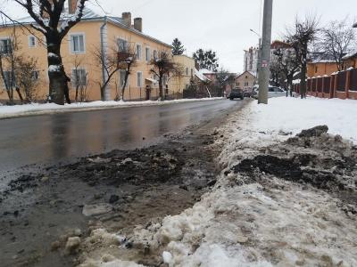 В Черновцах работники водоканала разрыли свежий асфальт на улице Щербанюка - фото