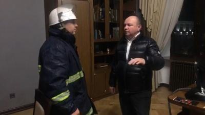 Каспрук «наїхав» на Продана, який у розпалі пожежі на Франка викликав у свій кабінет керівника ДСНС