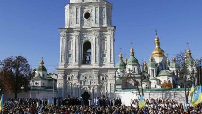 До Києва на Об'єднавчий Собор з'їжджаються віряни