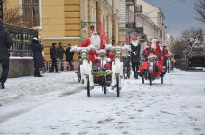 У Чернівцях відбудеться новорічний велопарад