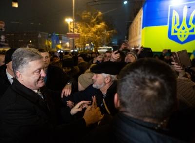 Порошенко вдячний українцям за масову підтримку Об'єднавчого собору