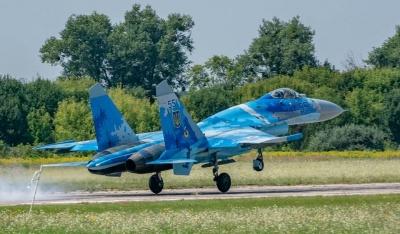 Оприлюднили подробиці падіння винищувача Су-27 на Житомирщині