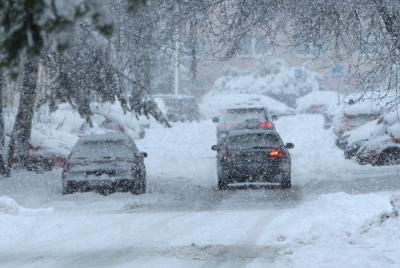 Штормове попередження. На Буковину насувається сильний снігопад