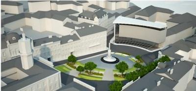 Як може виглядати Центральна площа Чернівців: студенти презентували проект дизайну