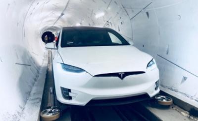 Маск презентував швидкісний тунель під Лос-Анджелесом