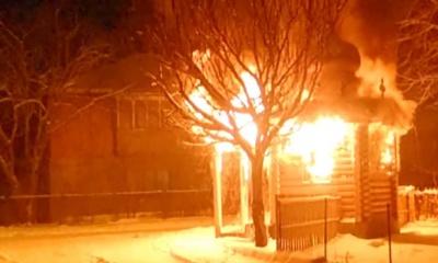 На Буковині у День святого Миколая горіла капличка - відео