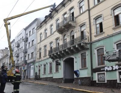 У Чернівцях міськрада виділила 700 тис грн на ремонт будинку, що постраждав від пожежі