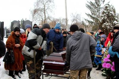 У Чернівцях попрощалися із учасником АТО Олександром Загородним - фото