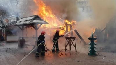 Пожежа у центрі Львова: кількість постраждалих зросла, усі ярмарки припиняють роботу