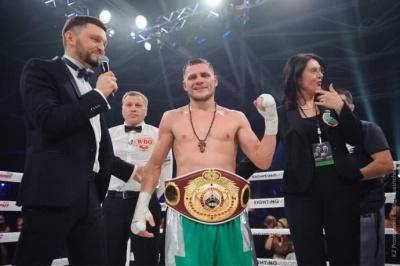 Українець Берінчик здобув вакантний титул WBO International