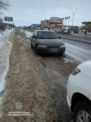 На Буковині поліцейські за допомогою TruCam затримали водія під «кайфом»