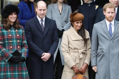 Кейт Міддлтон і Меган Маркл прийшли на обід до Єлизавети II в старих сукнях