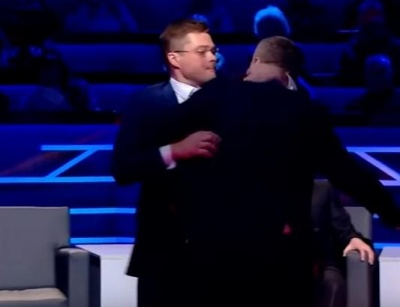 Нардеп Мосійчук побився з політологом у прямому ефірі - відео