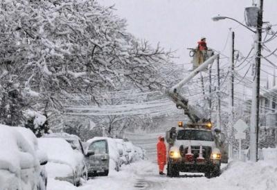 Снігопад знеструмив 8 населених пунктів на Буковині