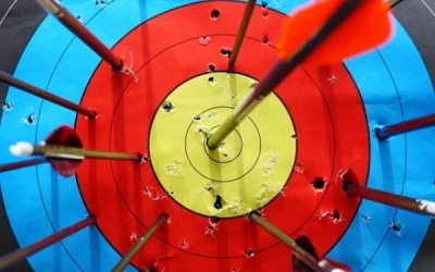 Стрільба з лука: діти змагалися у першості Чернівців