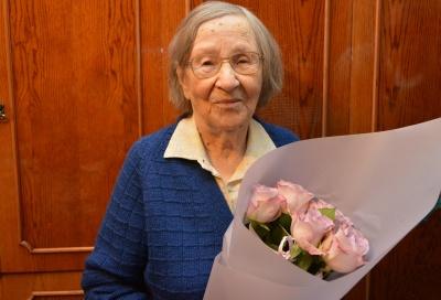 У Чернівцях місцева жителька відзначила 100-річний ювілей