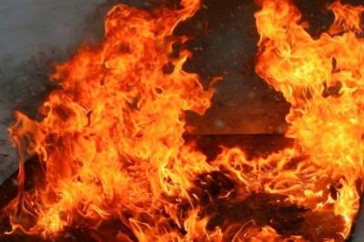 На Буковині у масштабній пожежі постраждав будинок