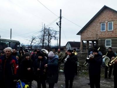 На Буковині поховали бійця Ігоря Тарновецького - фото