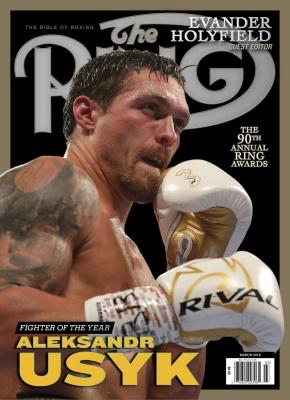 Усика визнано найкращим боксером року за версією журнала The Ring
