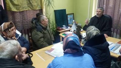 У Чернівцях митрополит Данило зустрівся з громадою, яка попрощалась з УПЦ МП