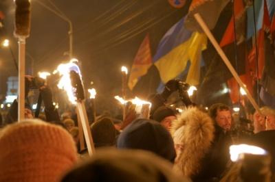 У Києві до ювілею Бандери відбувся марш націоналістів