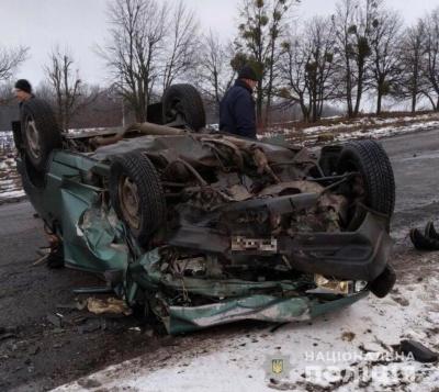 На Вінничині у ДТП загинули двоє дорослих та немовля
