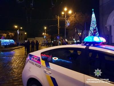 У Чернівцях поліція в новорічну ніч затримала 14 п'яних водіїв