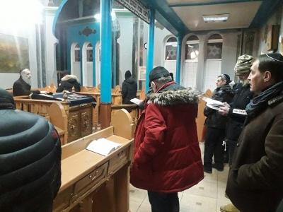 У центральній синагозі Чернівців обрали нового равина