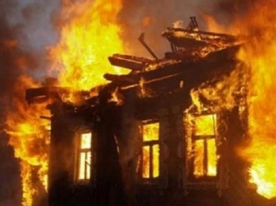 На Буковині на Святвечір горіла господарська будівля