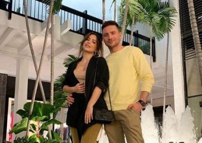 Ані Лорак відпочиває в Маямі з російським співаком