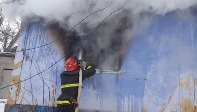 На Буковині через жарину з печі у пожежі загинув чоловік