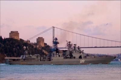 У Чорне море увійшов бойовий корабель Північного флоту РФ