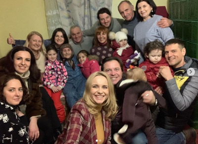 Лілія Ребрик відсвяткувала Різдво на Буковині у прабабусі - фото
