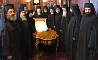 Томос про автокефалію УПЦ підписали усі члени Вселенського патріархату