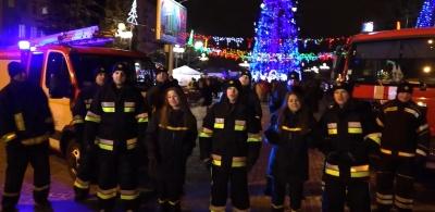 Рятувальники виконали несподівану версію «Щедрика» – відео